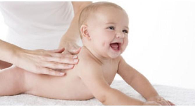 Остеопатический массаж для детей до года